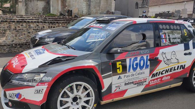 accident au rallye du Touquet