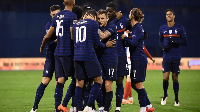 Trois Nordistes en équipe de France