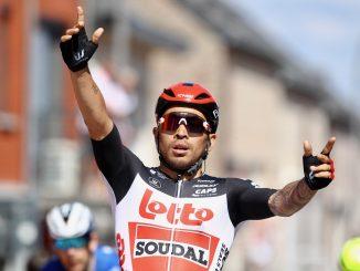 victoire de Caleb Ewan au tour de Belgique