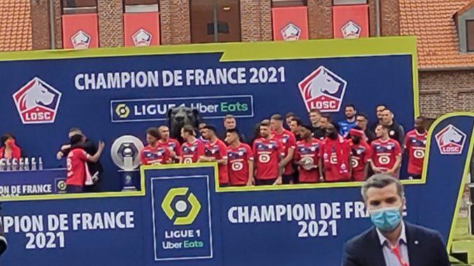 Les joueurs du LOSC ont retrouvé le domaine de Luchin quelques semaines après la réception du trophée de champion