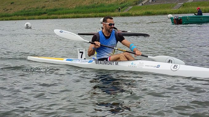 portrait Maxime Beaumont aux Jeux olympiques de Tokyo