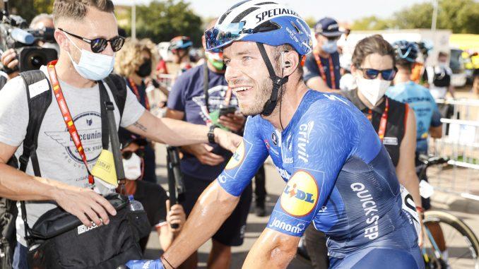 Florian Sénéchal vainqueur à la Vuelta