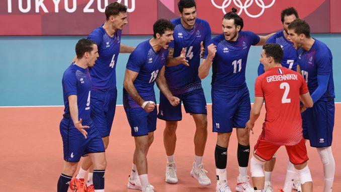 les volleyeurs nordistes au championnat d'Europe de volley-ball