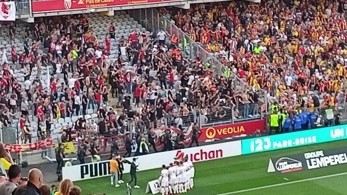 incidents derby Lens-Lille